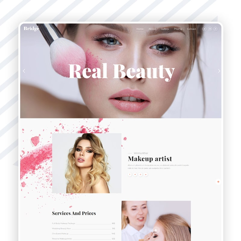 Kosmetik Website
